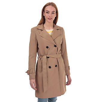 Women's Only Vega Trench Coat in Brown