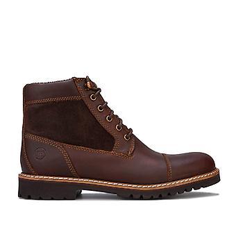 Bottes d'orteil de cap robuste de Rockport Marshall en brun