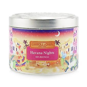 Carroll & Chan 100% Bijenwas Kaars - Havana Nights (8x6) cm