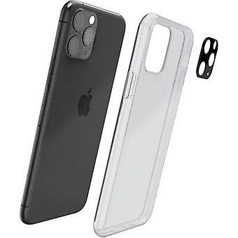 حماة حماية غطاء أبل اي فون 11 برو ماكس الأسود (شفاف)
