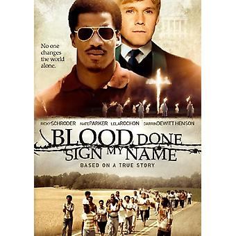 Blood Done Sign My Name [DVD] USA import