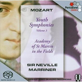 W.a. Mozart - Mozart: Youth Symphonies, Vol. 3 [SACD] USA import