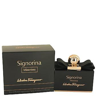 Signorina Misteriosa Eau De Parfum Spray By Salvatore Ferragamo 3.4 oz Eau De Parfum Spray