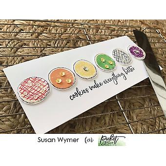 Picket Fence Studios Cookie or Donut? Clear Stamps