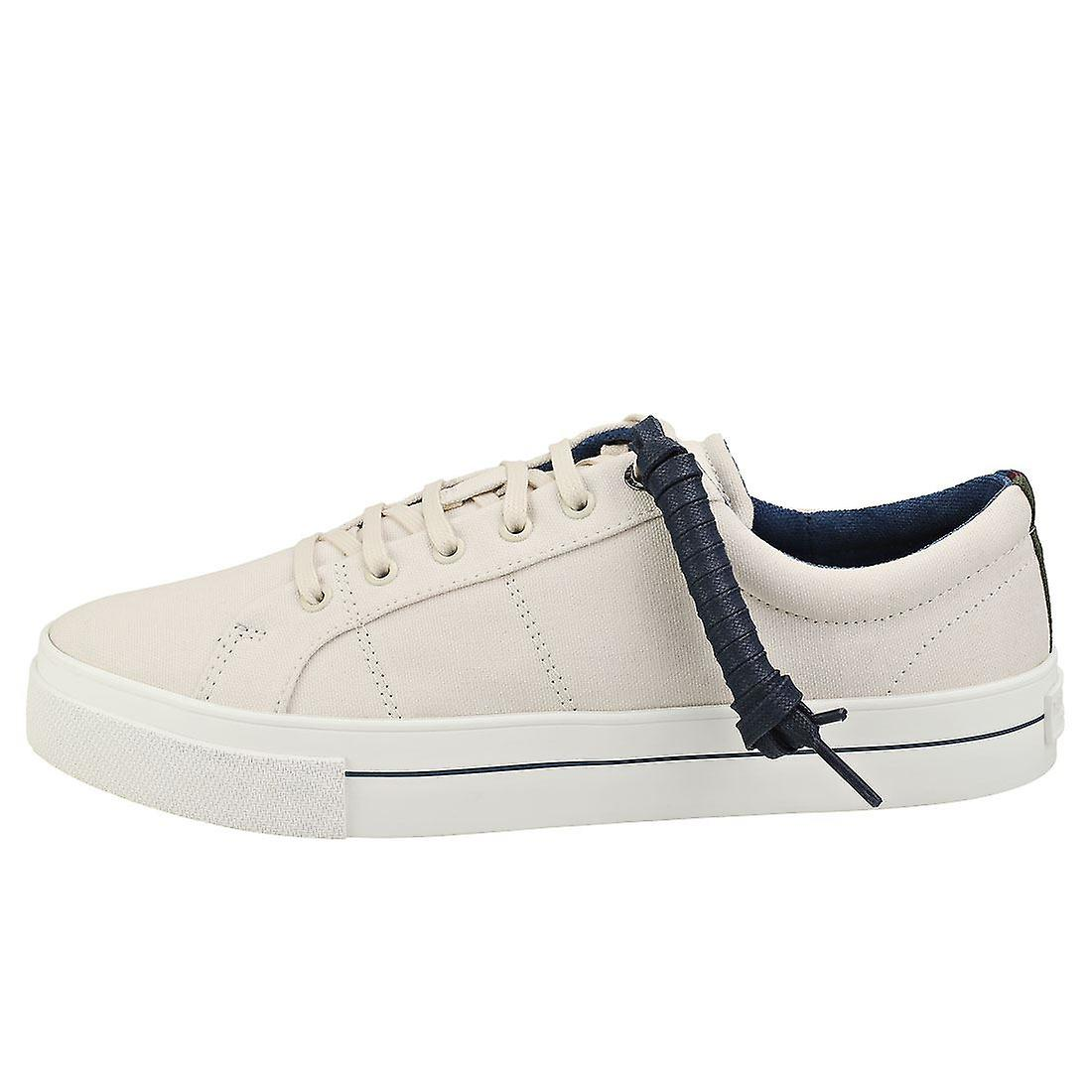 Ted Baker Essher Mens Flatform Trainers in White