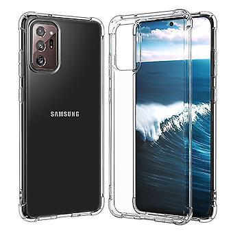 Para Samsung Galaxy Note 20 funda transparente TPU Light Protective Cover