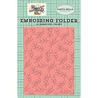 Carta Bella Embossing Carpeta Bloom &; Crecer