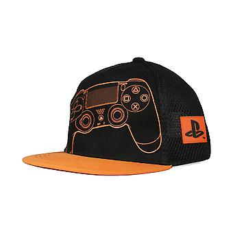 Playstation PS4 Remote Girls Snapback Cap ? Mercancía oficial
