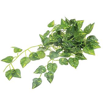 Artificial Scindapsus, Aureus Vine For Reptiles Terrarium-habitat Decor