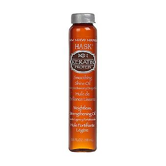 Keratin Protein Smoothing Shine Oil Vial 18 ml of oil