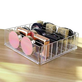 Makeup Organizer Storage Box - Cream Clarity Cosmetic Holder, Vanity Cabinet