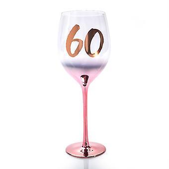 Geburtstag erröten Weinglas