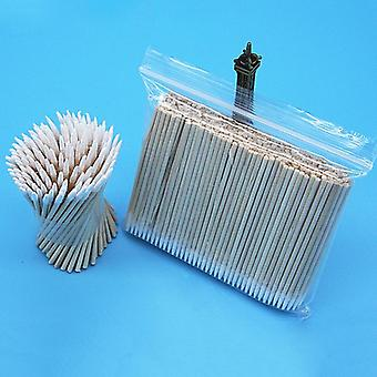 Tattoo, Makeup, Microblade, Cotton Buds Swabs With Long Wooden Handle