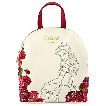 Loungefly X Disney Bold Belle Mini Faux Leather Backpack
