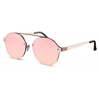 نظارات شمسية Unisex واندر الذهب / الوردي (CWI1905)