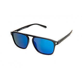 Sonnenbrille Unisex    rechteckig blau/schwarz (PZ20-102)