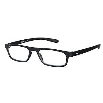 Gafas de lectura Unisex Duo espesor negro +1.00 (le-0182A)