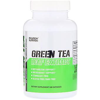 Evlution Nutrition Green Tea Leaf Extract 100 capsules