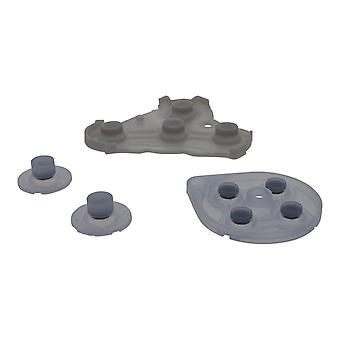 Conductive rubber pad button contacts kit for nintendo gamecube controller (gc ngc)