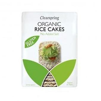 Clearspring - Org Thin Rice Cakes No Added S 130g