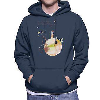 The Little Prince Autumn Colours Heart Quote Men's Hooded Sweatshirt