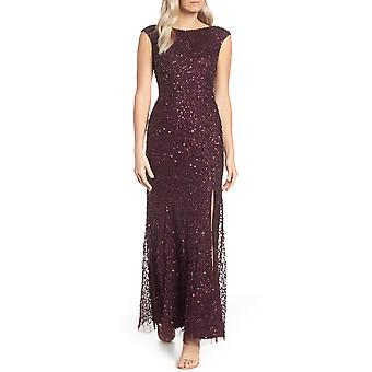 Adrianna Papell | Cap Sleeve Sequin Gown