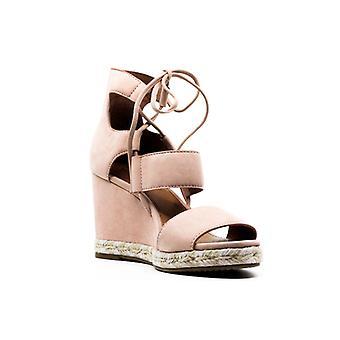 Frye | Roberta Ghillie Sandals Wedge Heels