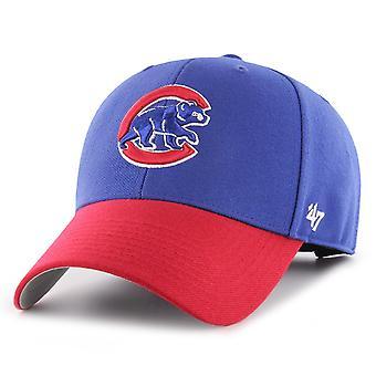 47 Brand Adjustable Cap - MLB Chicago Cubs royal / red