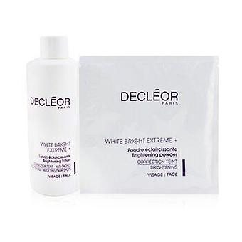 White Bright Extreme Set (Salon Size): Brightening Lotion + 5x Brightening Powder 6pcs