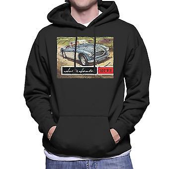 Austin Healey Country Road British Motor Heritage Men's Hooded Sweatshirt