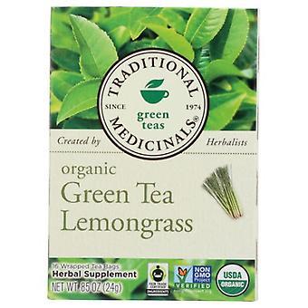 Traditional Medicinals Teas Golden Green Tea, 16 Bags
