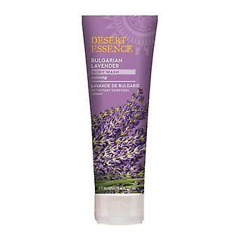 Desert Essence Bulgarian Lavender Body Wash, 8 Oz