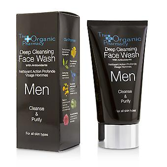 Men deep cleansing face wash cleanse & purify 221211 75ml/2.5oz