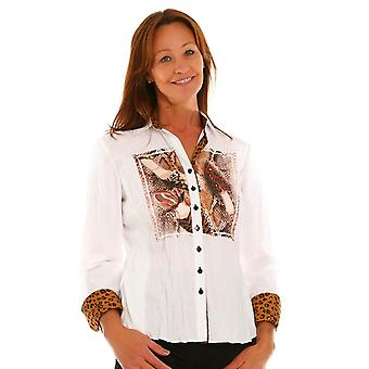 JUST WHITE Just White White  Blouse 43208