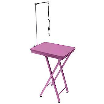 Groom Professional Rengas Sivutaitto Kannettava hoitopöytä - Pinkki