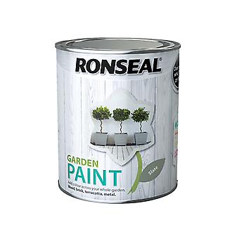 Ronseal Garden Paint Slate 750ml RSLGPSL750