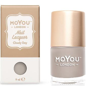 MoYou London Stamping Nail Laque - Cloudy Day 9ml (mn090)
