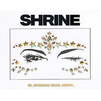 Shrine Individual Self Adhesive Face Jewel - El Dorado - Gold