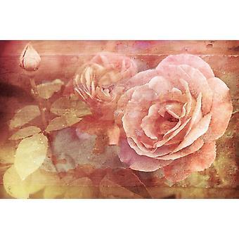 Tapet vægmaleri vintage florals