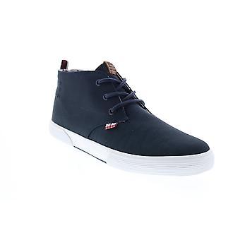 Ben Sherman Bradford Chukka Mens Blue Canvas Lifestyle Sneakers Shoes