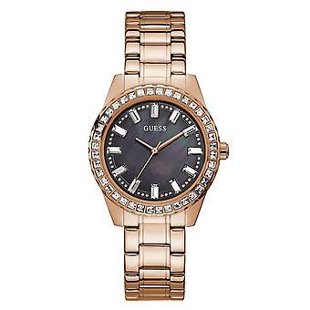 Guess GW0111L3 Frauen's Sparkler Rose Gold Ton Armbanduhr