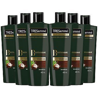 Tresemme Botanique Nourish & Resurmant Shampooing, 6 Pack 400ml