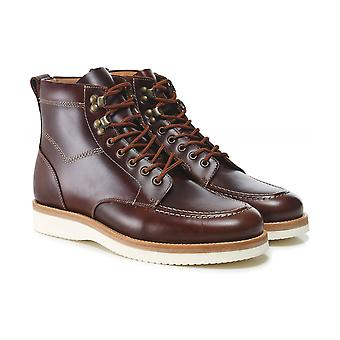 Oliver Sweeney Leather Canhas Boots