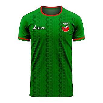 Burkina Faso 2020-2021 Home Concept Football Kit (Libero)