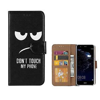 FONU Buch Modell Fall Don't Touch Mein Telefon Huawei P10