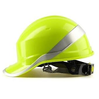 Safety Helmet, Protective Cap With Phosphor Stripe, Construction Site, Protect