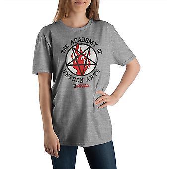Sabrina Academy of unseen arts crew -akatemian jäähdyttävät seikkailut lyhythihainen t-paita