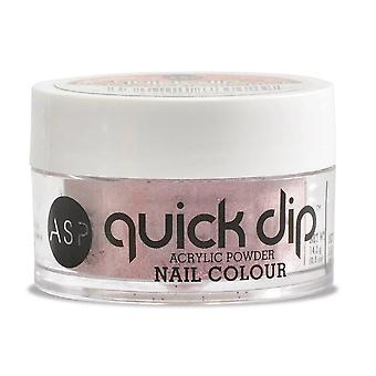 ASP Quick Dip Acrylic Dipping Powder Nail Colour - Not Your Biker Chick