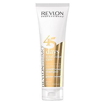 Revlon Revlonissimo 45 Days Shampoo & Conditioner Golden Blondes 275ml