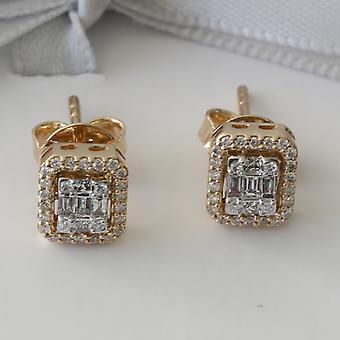 Korvakoru Ariana 18K kulta ja timantit